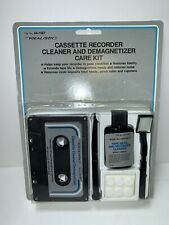 Realistic Cassette Recorder Cleaner and Demagnetizer Care Kit Cat. No. 44-1167