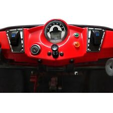 UTV Performance Dash Panel Black Powdercoated w/ 2 Switches for Polaris RZR 170