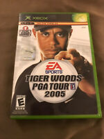 Tiger Woods PGA Tour 2005 (Microsoft XBOX) Disc Case GOLF GAME