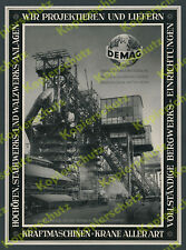orig. Reklame DEMAG Duisburg Hochofen Ostasien Stahl Montan Otto Wolff Köln 1940