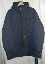 NWT TOMMY HILFIGER Navy Jacket Coat Toggle Buttons Mens...