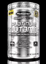 MuscleTech Essential Series Platinum 100% Glutamine 60 Servings- 2020 Exp. Date