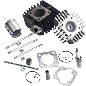 para SUZUKI JR 50 JR50 Cylinder Engine Piston Ring Gasket Top End Kit 78-06 1987