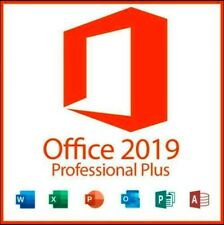 MICROSOFT OFFICE 2019 PROFESSIONAL PLUS 32/64 BIT LICENSE KEY INSTANT DELIVERY.