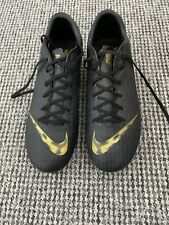 Black Nike Mercurial Football Boots Size 8 Very Good Condition