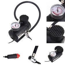 12V Portátil Mini Compresor de aire 300 PSI Bomba Infladora De Neumáticos Bicicleta Auto Cigarrillo