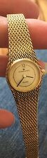 Vintage UNIVERSAL GENEVE Ladies Gold Tone Mesh Watch