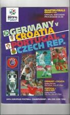 Away Teams C-E Croatia Final Football Programmes