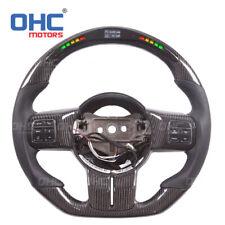 Carbon fiber steering wheel for Jeep wrangler