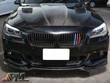 For 11-16 BMW M-Sport F10 528i 535i 550i E Style Carbon Fiber Front Bumper Lip