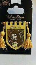 Princess Belle Tapestry Banner Flag Tassel Disney Pin