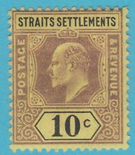 STRAITS SETTLEMENTS 98 1902  MINT HINGED OG NO FAULTS EXTRA FINE !