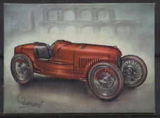 Fiat 1922 GP Racing Car 1922 Vintage 1950s Dutch Trading Card No.144