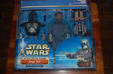 "Jango Fett 12"" Deluxe Set-Star Wars Attack of the Clones-New 1/6th Scale MIB"