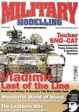 Military Modelling May 2008 AFV Club M5A1 Stuart Russian T-90 Tucker Sno-Cat