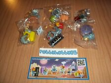 SPACE MISSION COMPLETE SET WITH ALL PAPERS KINDER SURPRISE 2014