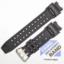 casio black rubber watch band für g-9200, gw-9200, 10297191