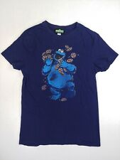 Sesame Street T-shirt Cookie Monster Cookies Juggling 2010 Size Small
