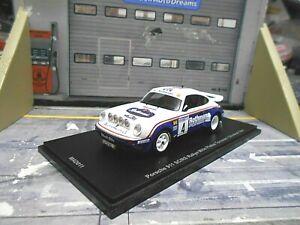 PORSCHE 911 SC/RS Rallye 1000 Pistes #4 Toivonen Rothman 1984 1/200 Spark 1:43