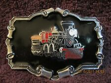 Vintage Limited Ed.1980 Train Locomotive Great American Chicago Belt Buckle