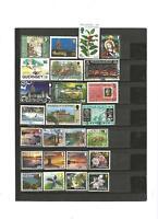 25 sellos de guernesey lot 26042017 esp 888