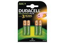 Duracell 656.981UK nimh plus 750mAh ultra long lasting power rechargeable