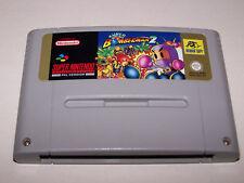 SUPER BOMBERMAN 2 - Super Nintendo SNES - UK PAL - Cartridge - SNSP-M4-UKV