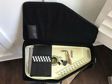 Rare Blonde Oscar Schmidt Autoharp Model OS-21C W/ Case Super Clean Wow!!