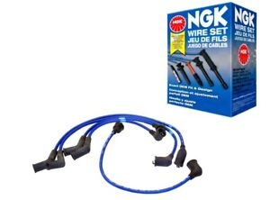 NGK Ignition Wire Set For 1972 SUBARU STAR H4-1.3L Engine