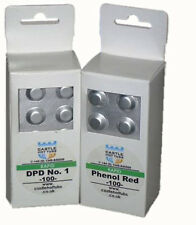 More details for 100 phenol red & 100 dpd no 1 tablets swimming pool test hot tub spa pool kit