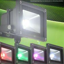 10 W LED outdoor spot light lamp garden Baustrahler color changer remote control