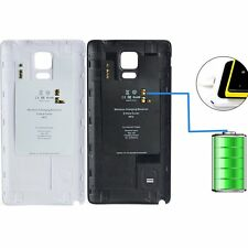 Wireless Battery Back Cover Case Charger Receiver For SamSung Galaxy Note 4
