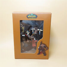 "WOW WOW WORLD OF WARCRAFT- TAUREN SHAMAN  PVC figure 4"" NEW"