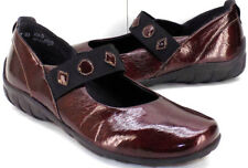 RIEKER Anit-Stress Patent Leather Mary Janes Ballet Flats Women's 41 US Size 9.5