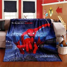 """60 X 80"""" Marvel Spiderman Spider man Action Superhero Big Flannel Blanket Throw"""