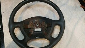 97-02 FORD ESCORT MERCURY TRACER  BLACK  STEERING WHEEL WITHOUT CRUISE CONTROL