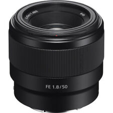 Sony FE 50mm F/1.8 Lens for E-Mount Cameras - Brand New In Box - Free Ship!
