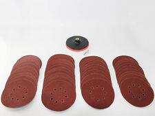 Discos pulido Set 150mm Adhesivo + 40 Lijado discos K 60 para Taladradora Flex