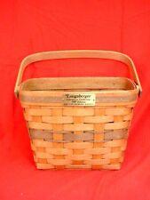 Longaberger 1989 Christmas Collection - Holiday Memory Basket - Vintage