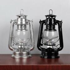 Retro Classic Kerosene Lamp Dimmable Lanterns Wick Portable Camping Light Decor