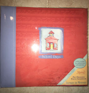 Markings ~ Photo Album Scrapbook~ School Memories ~Preschool to 12th Grade~ NEW