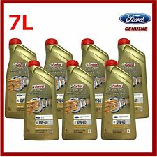 Genuine Ford Focus RS Castrol Edge Fully Synthetic 0W40 Engine Oil 7 Litres