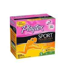 Playtex Sport Fresh Balance Tampon, Multi-pack, 32 ea