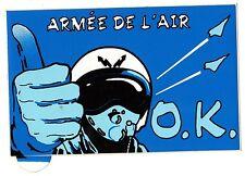 Autocollant Armée de l'Air Française début des années 90