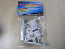 A Clip/Luce Morsetto 240v 60w BAIONETTA Fit Spina