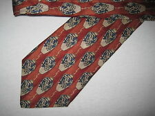 BOYS 48 x 3 Orange Beige SILK Tie Necktie Jacobs Roberts (1306) ~  FREE US SHIP
