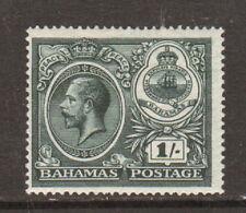 Bahamas Sc 69 Mlh. 1920 1sh dark green Peace issue F-Vf