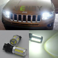 2x HID white 33-SMD LED Daytime Running Light For Jeep Grand Cherokee 2011 up