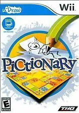 Pictionary - Udraw - Nintendo Wii Nintendo Wii, Nintendo Wii Video Games