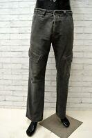 Pantalone Chino CAMEL ACTIVE Uomo Taglia Size 33 Jeans Pants Man Grigio Cargo